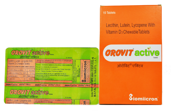 Orovit Active Tablets